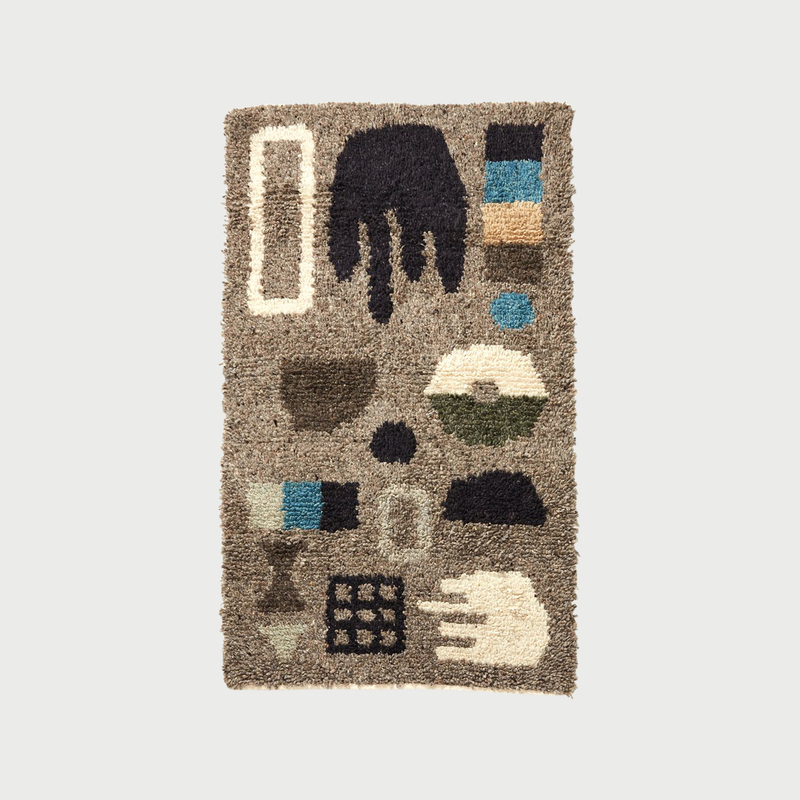 Minna dream rug grey
