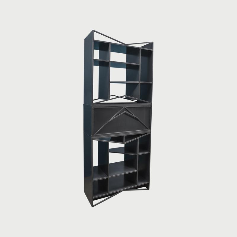 Meridian modular credenza vertical clean
