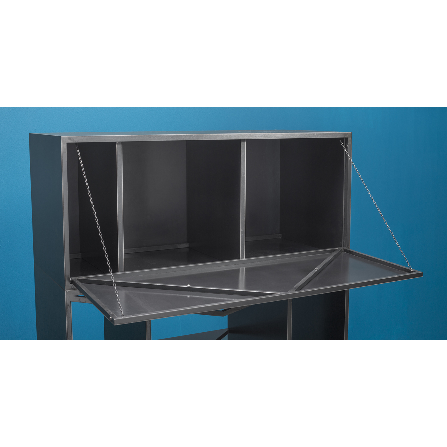 Meridian modular credenza cabinet clean