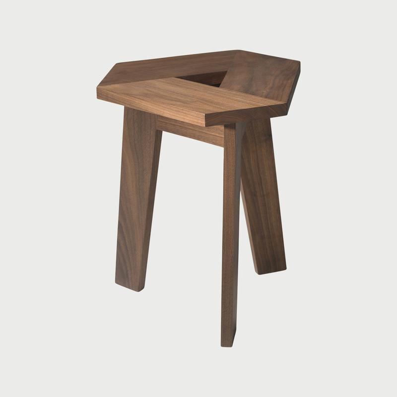 100xbtr tri stools walnut