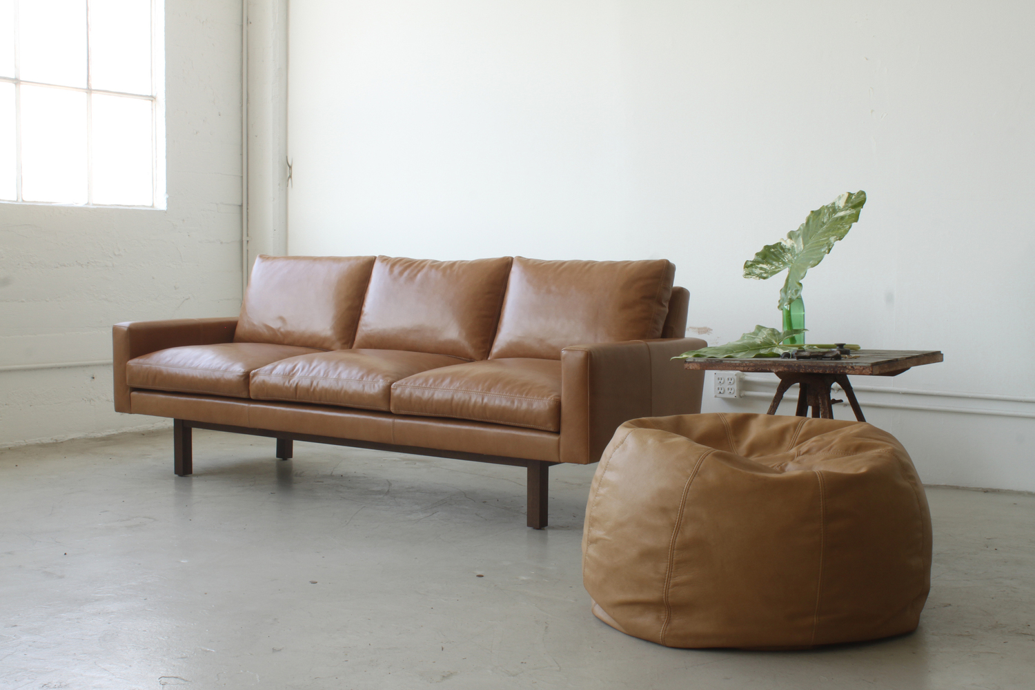 Michael felix standard sofa and pouf